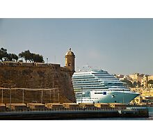 Grand Harbour Valletta Photographic Print