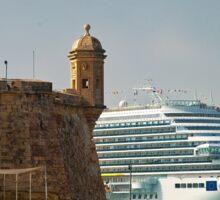 Grand Harbour Valletta Sticker