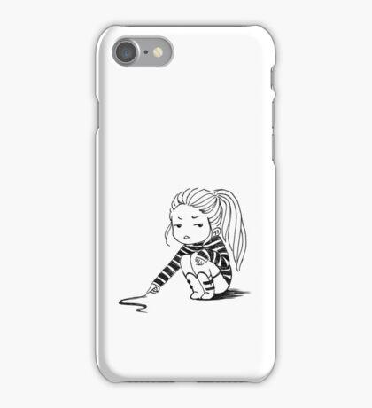 Bored Girl iPhone Case/Skin
