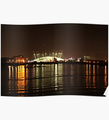 London Olympics Millenium Dome Poster