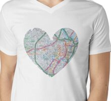 Love Sheffield Mens V-Neck T-Shirt