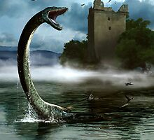 Loch Ness Monster by alextomlinson