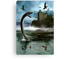 Loch Ness Monster Canvas Print