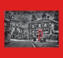 Haworth - Red Telephone Box Baby Tee