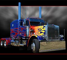 Optimus Prime Peterbilt by Keith Hawley