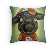 Cool Kid in the City Throw Pillow