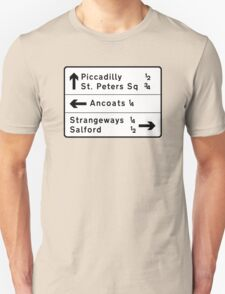 Strangeways, Here We Come (via Miller Street) Unisex T-Shirt