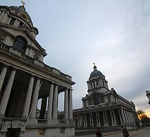 Greenwich Royal Hospital, London by Jane McDougall