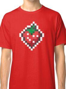 strawberry pixels Classic T-Shirt