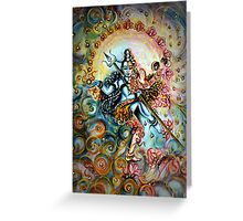 Shiva Shakti Greeting Card