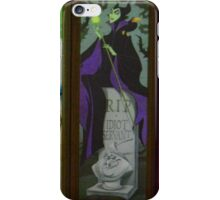 Stretching Portraits Haunted Mansion Villains Haunted House iPhone Case/Skin