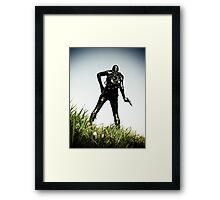 Ray Gun Zentai 2012 Set II Pic 02 Framed Print