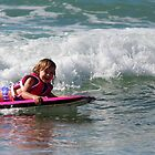 Catching the waves.  by Nicole Barnes