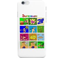 Superclerk (white background) T-shirt Design iPhone Case/Skin