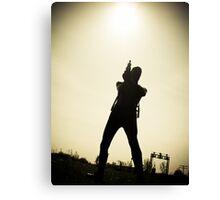 Ray Gun Zentai 2012 Set II Pic 07 Canvas Print
