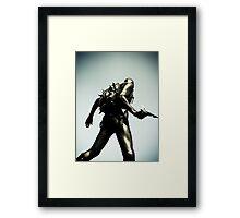 Ray Gun Zentai 2012 Set II Pic 10 Framed Print