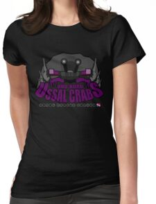 Onu-Koro Ussal Crabs Womens Fitted T-Shirt