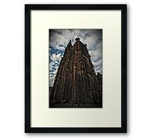 The Cathedral of Strasbourg Framed Print