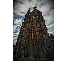 The Cathedral of Strasbourg Photographic Print
