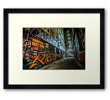 You knows? Framed Print