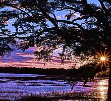 Beaufort Sunset by Jeff Johannsen