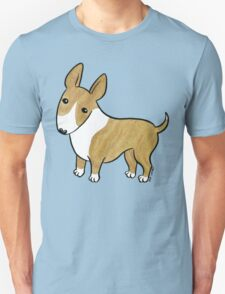 English Bull Terrier - Brindle and White Unisex T-Shirt