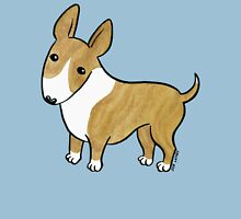 English Bull Terrier - Brindle and White Womens Fitted T-Shirt
