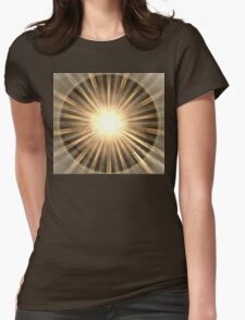Mars Rays Womens Fitted T-Shirt