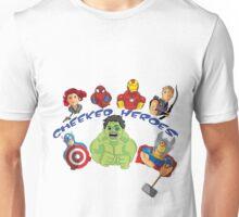 cheeked heroes 2 Unisex T-Shirt