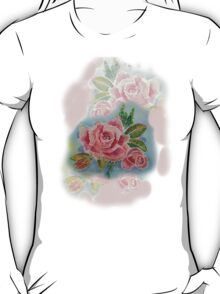 OLD FASHIONED ROSES   TEE SHIRT/BABY GROW/STICKER T-Shirt