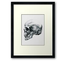 Behind the Face Framed Print