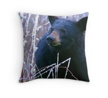 BLACK BEAR SMOKY MOUNTAINS Throw Pillow