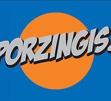 Porzingis! by Greg Buchanan