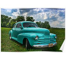 1948 Chevrolet Custom Street Rod Poster
