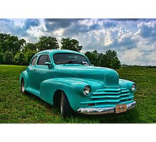 1948 Chevrolet Custom Street Rod Photographic Print
