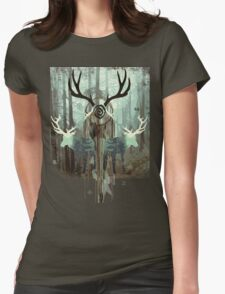 The Forest Spirits Womens Fitted T-Shirt