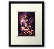 Gingerbread Cupcake Framed Print