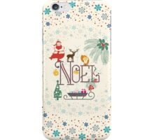 Christmas Noel iPhone Case/Skin