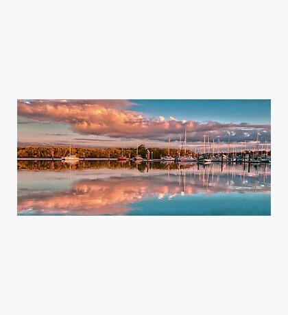 Marina Sunset Queensland Australia Photographic Print
