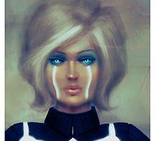Tron - Retro Blonde by jensketch