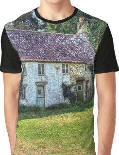 Dilapidated Cottages in Tintern Graphic T-Shirt