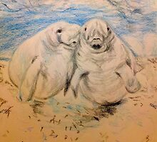 Manatee, Manatee, Under the Sea by NWillsonStrader