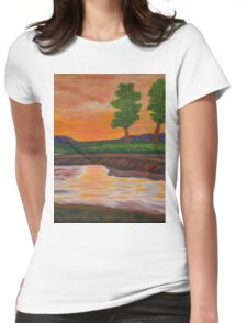 011 Landscape Womens Fitted T-Shirt