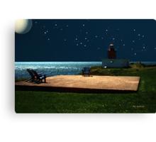 Ocean Oasis Canvas Print