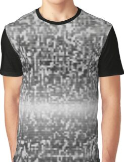 TV static noise Graphic T-Shirt