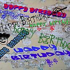 Graffiti Birthday  by CardZone By Ian Jeffrey