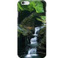 Watkins Glen Falls iPhone Case/Skin