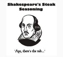 Shakespeare's Steak Seasoning Baby Tee