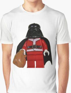 Santa Darth Vader Graphic T-Shirt