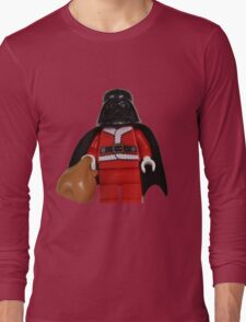 Santa Darth Vader Long Sleeve T-Shirt